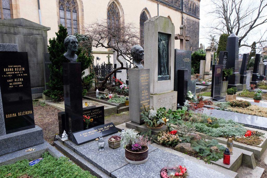 cimitero slavin praga