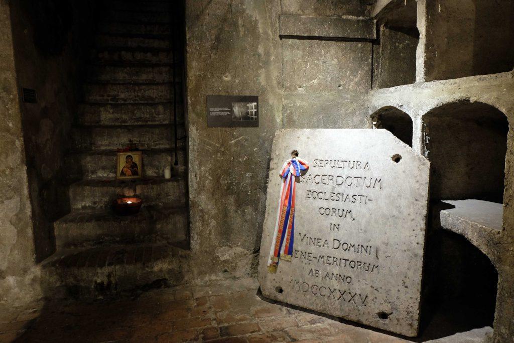 cripta cattedrale cirillo metodio