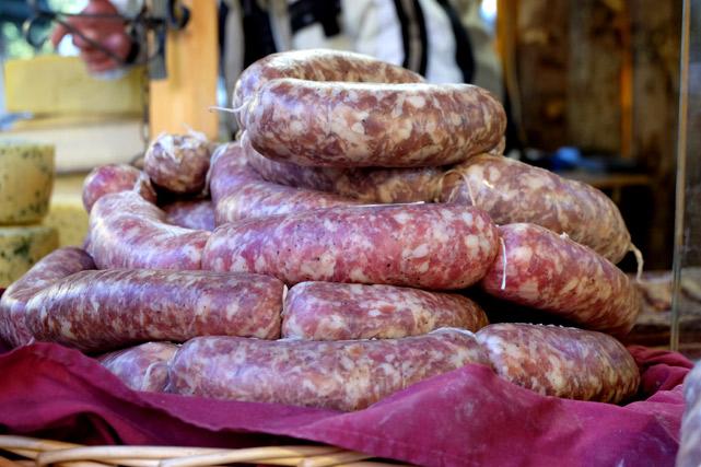 mercatini di natale salsiccia