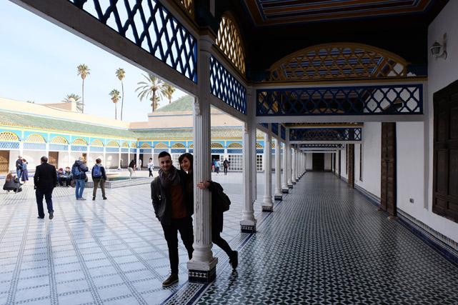 cosa vedere a marrakech eh bahia
