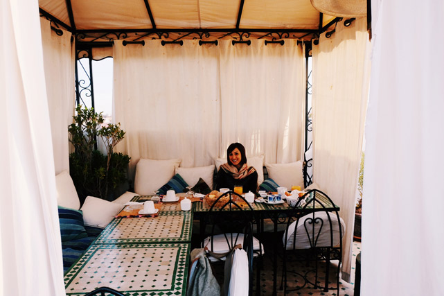dove mangiare a marrakech terrazze