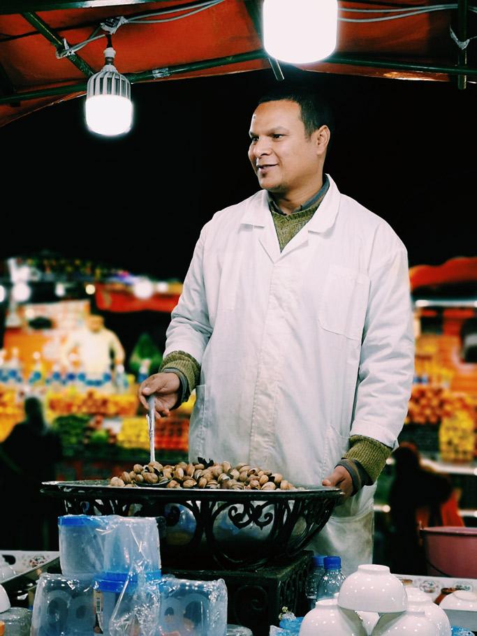 stand lumache a marrakech