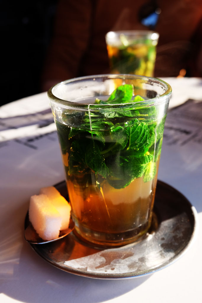 tè alla menta marrakech