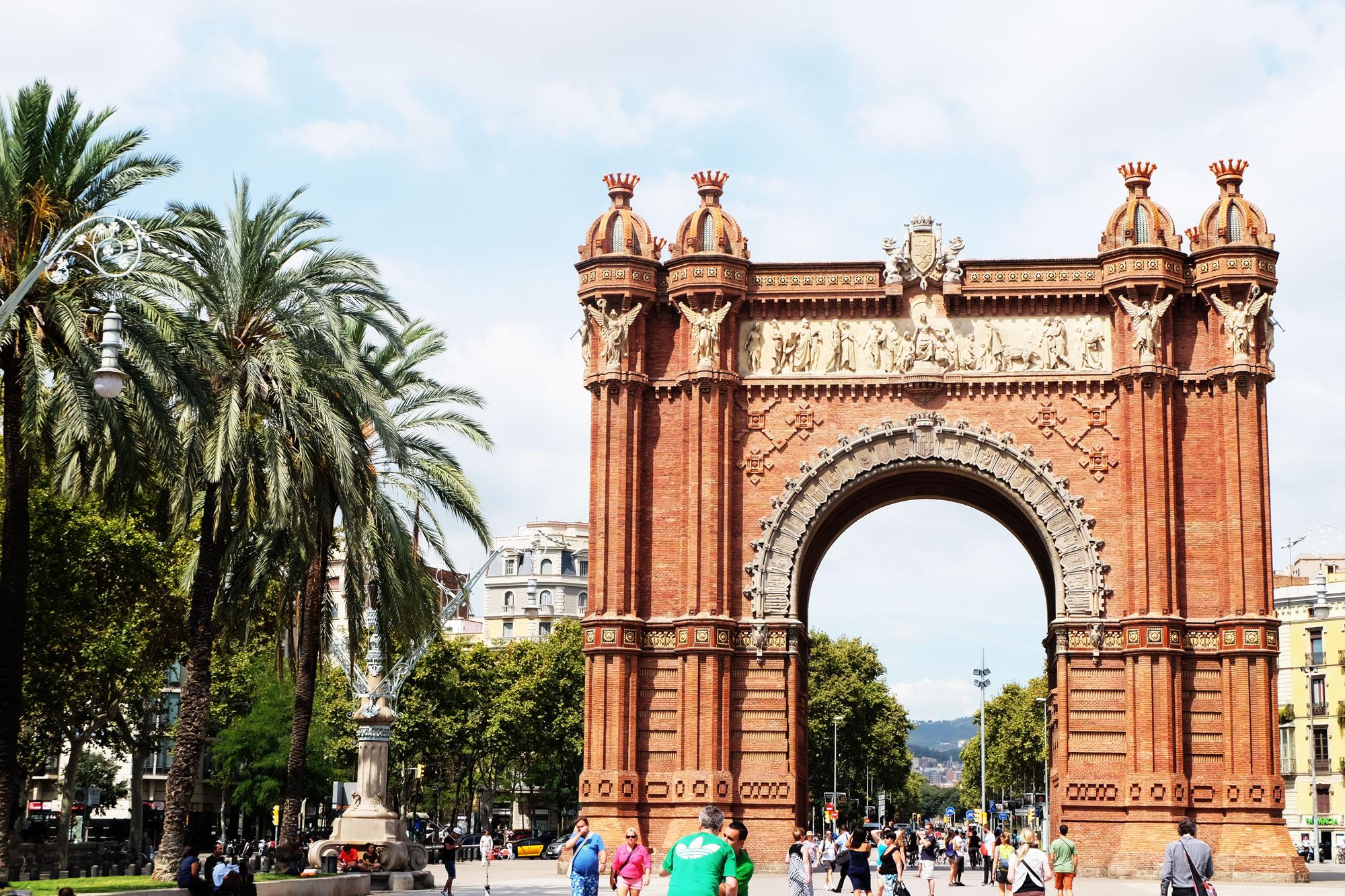 Arc du Triomf Barcelona