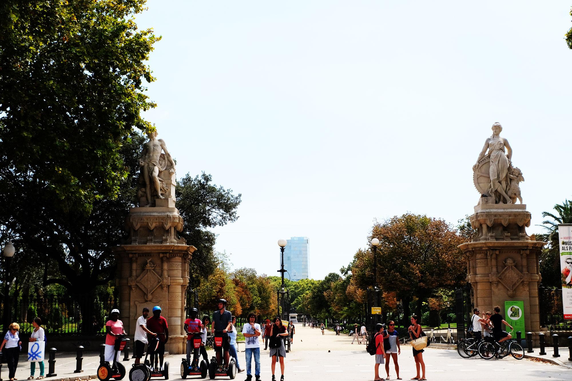 Parco della Cittadella Barcellona