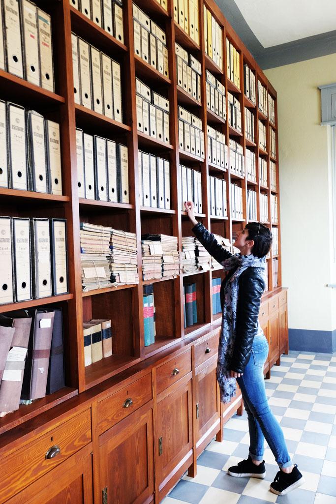 Saline Conti Vecchi sala archivi