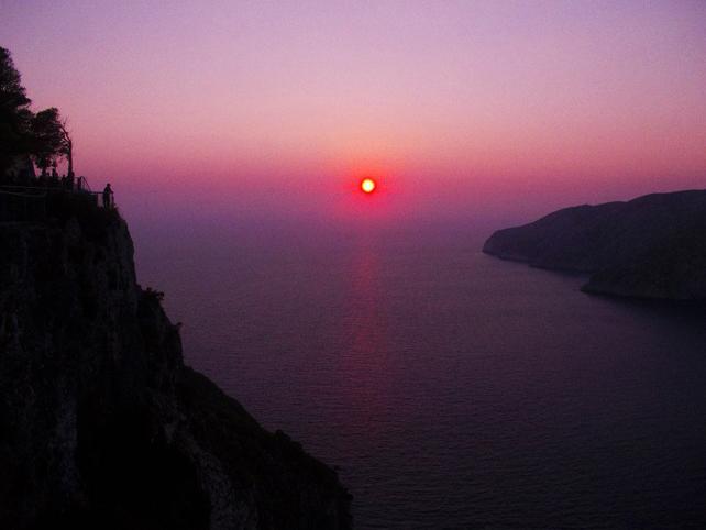 Zante cosa vedere tramonto