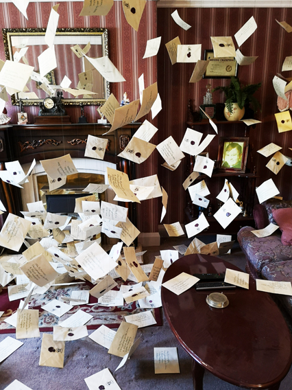 Harry Potter Studios lettere