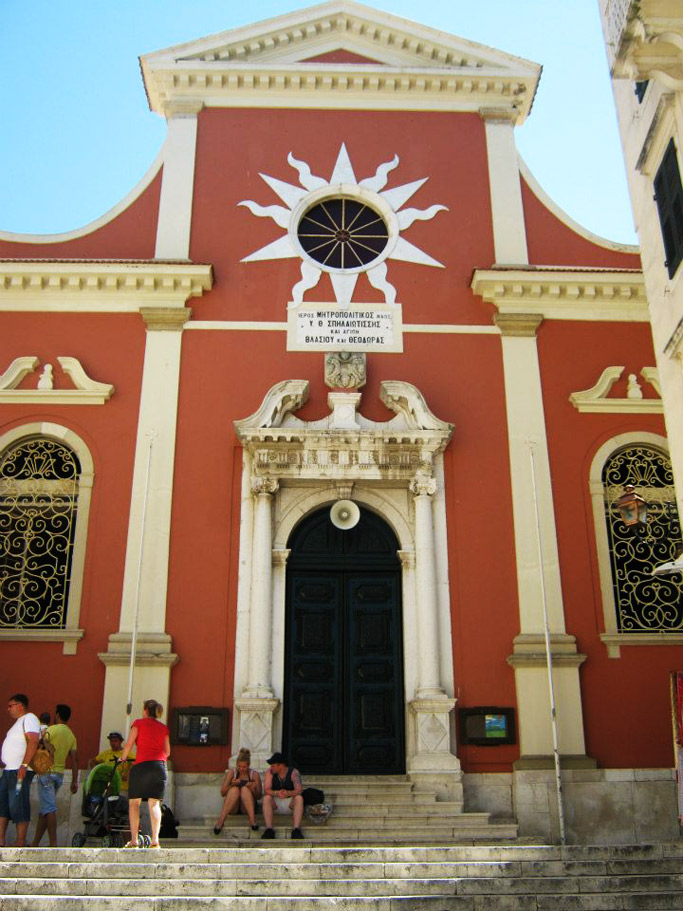 Chiesa Vergine Spiliotissa Corfu