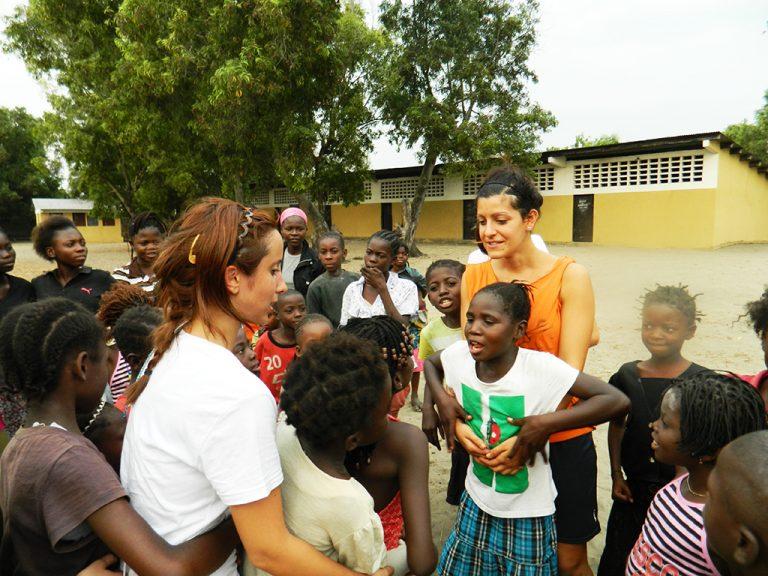 Africa giochi con i bambini