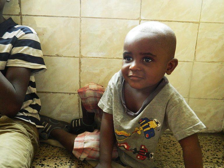 Bambino congolese Africa