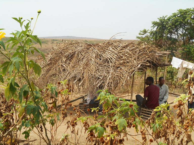 Congo capanna Africa