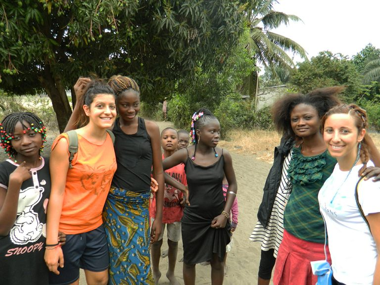 Donne bambine Congo