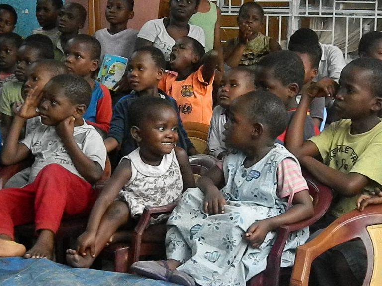 Bambini Congo orfanotrofio