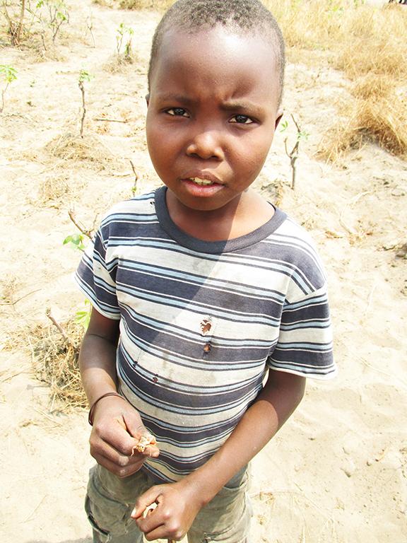 bambino-africa-insetto