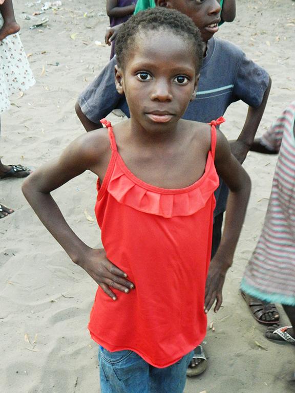 Congo Africa bambina