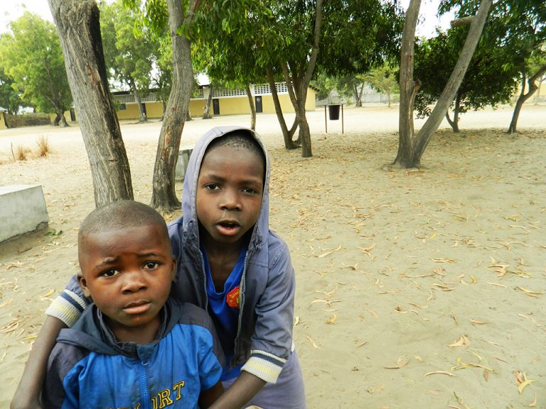 Congo Africa bambini