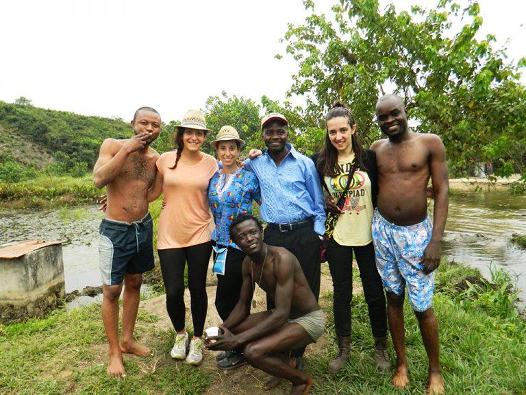 Fiume Congo ragazzi
