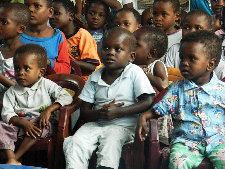 Kinshasa orfanotrofio