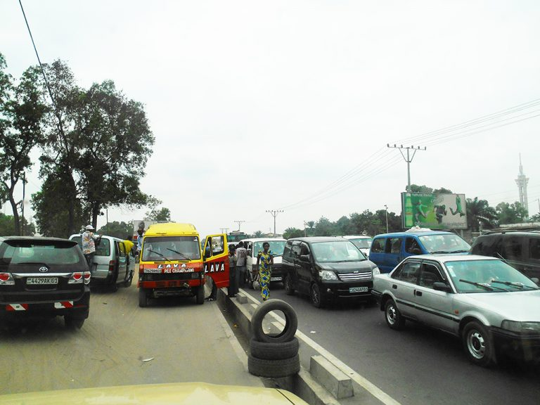 Kinshasa traffico