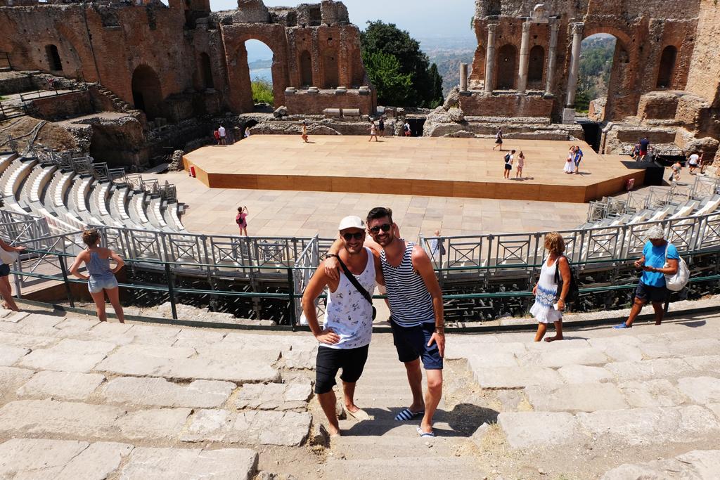 Anfiteatro greco Taormina