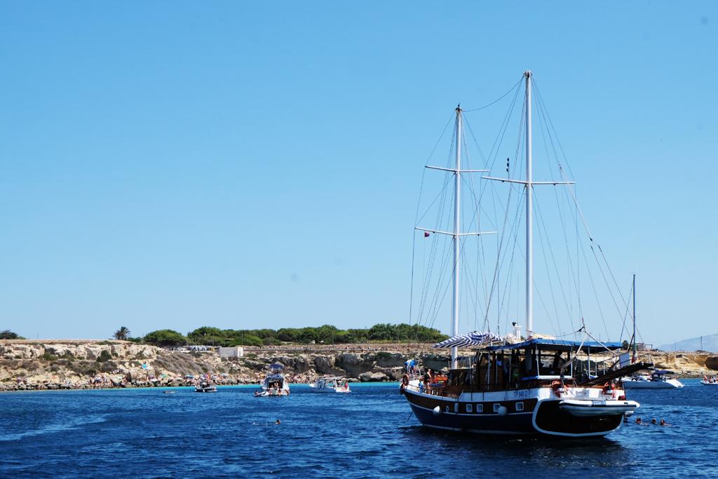 Favignana isola Sicilia