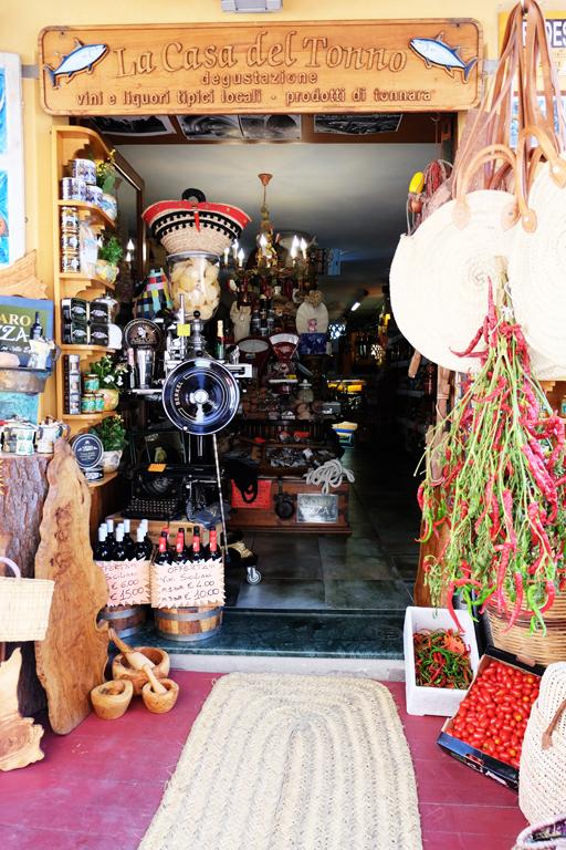 Favignana negozi