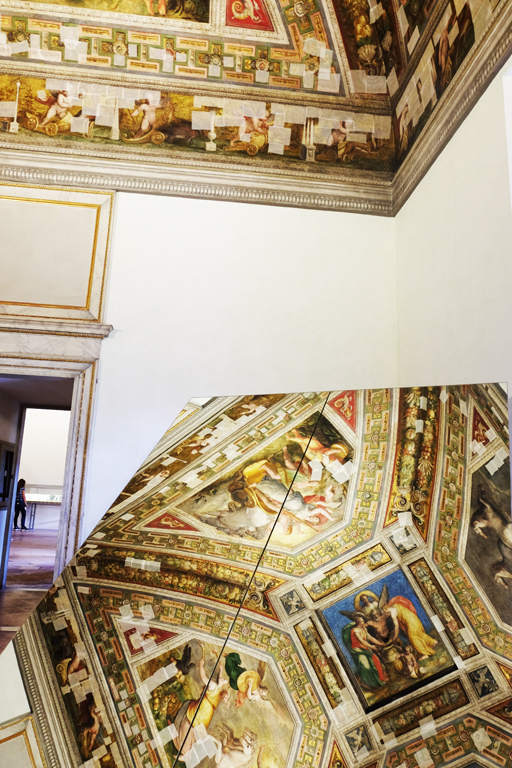 Affreschi Castello Estense