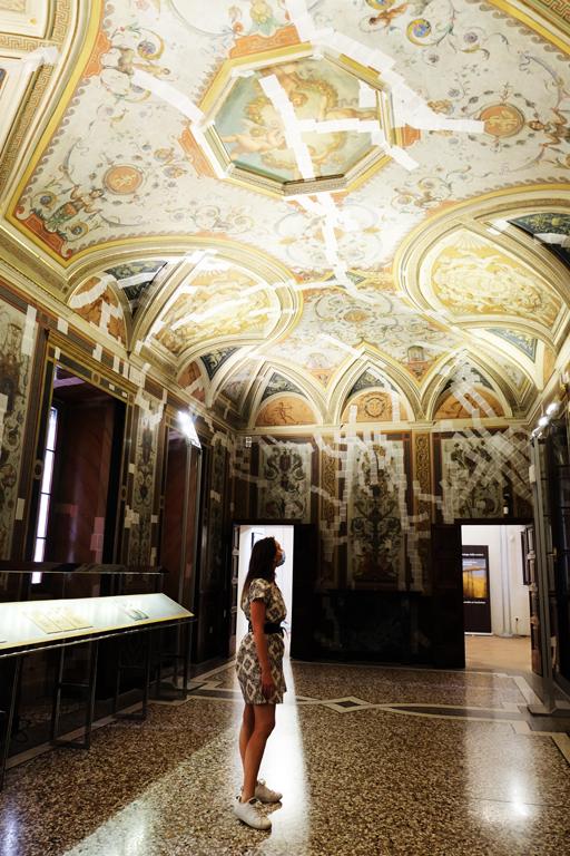 affreschi-castello-estense