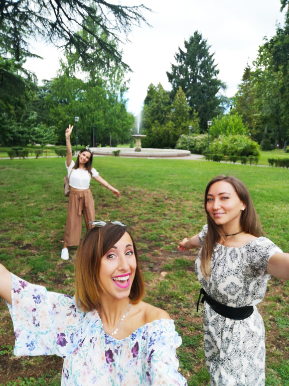 Ferrara weekend parco Massari