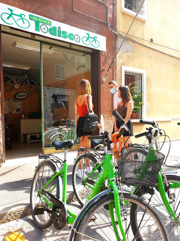 Noleggio bici Ferrara