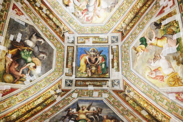 Soffitto Castello Estense
