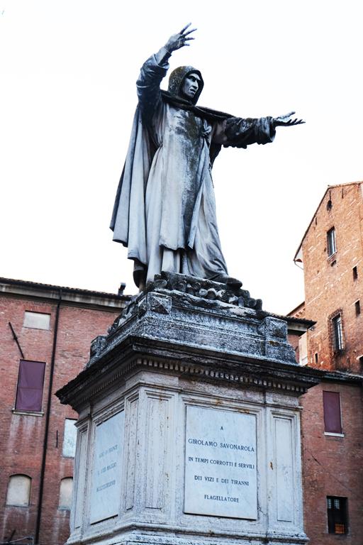 Statua Savonarola Ferrara