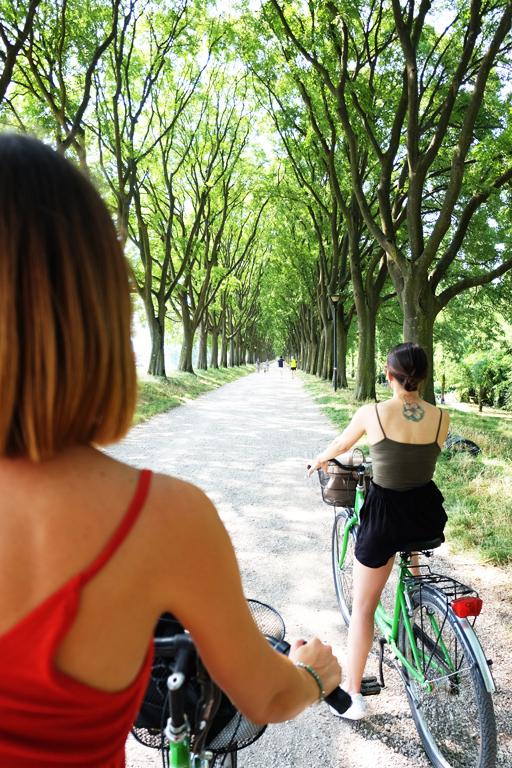 Vedere Ferrara in bicicletta