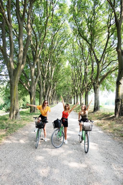 Visitare Ferrara in bicicletta