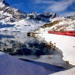 Trenino Rosso del Bernina: un percorso incantato fino a Saint Moritz