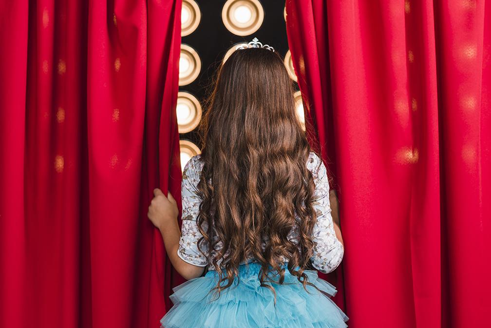 Storia di una bambina timida che salì su un palcoscenico
