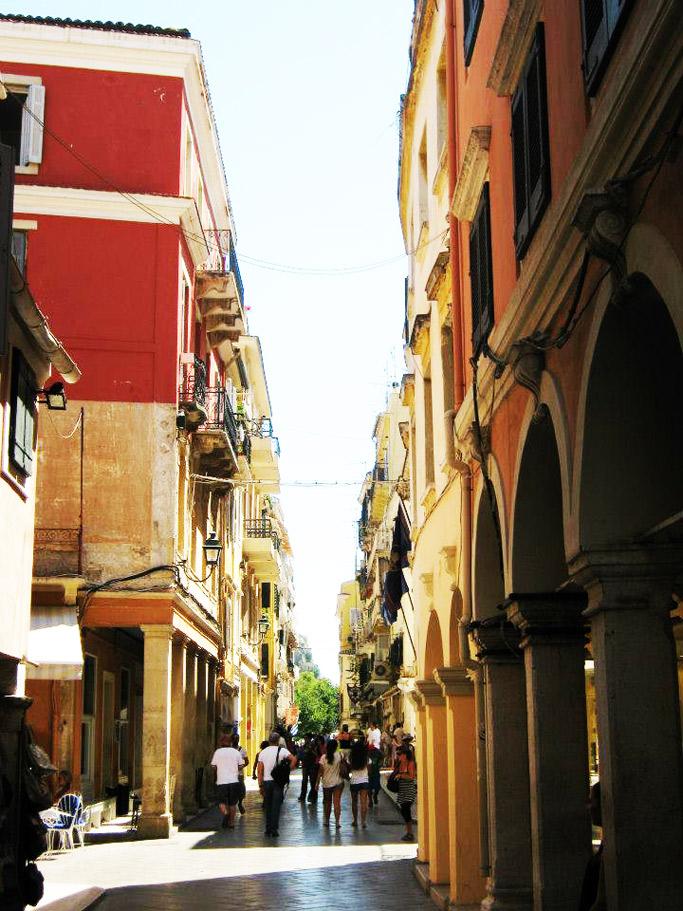 Corfu città vecchia