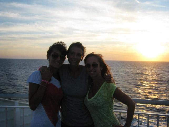 Corfu come arrivare in nave