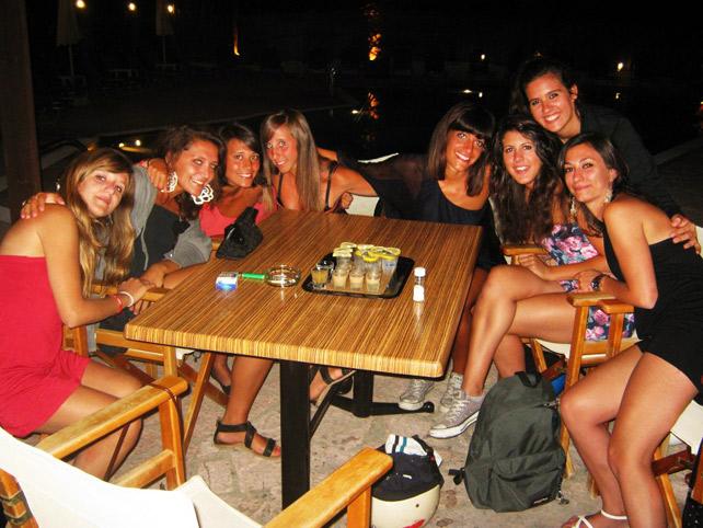 Corfu movida notturna