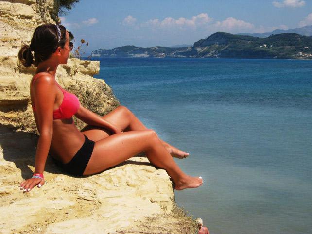 Corfu spiagge
