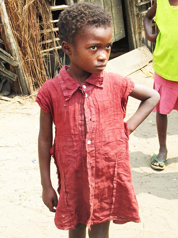 Africa Congo bambina