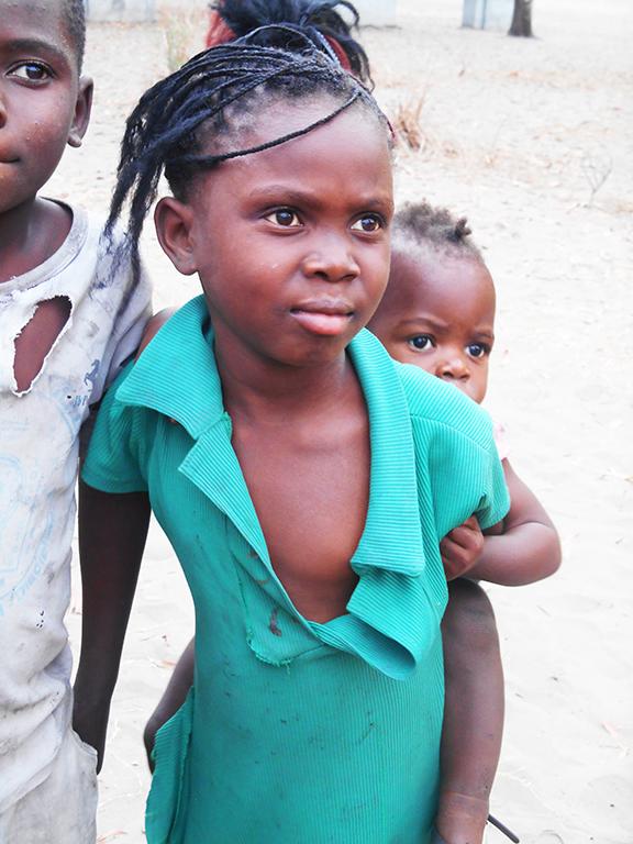Bambina africana