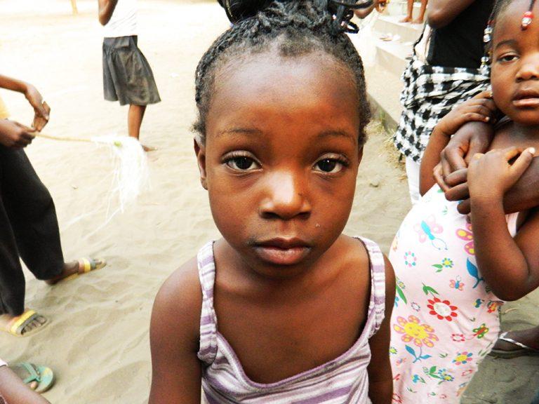 Bambina Congo Africa