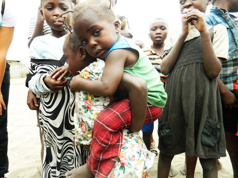 Occhi bambino Africa