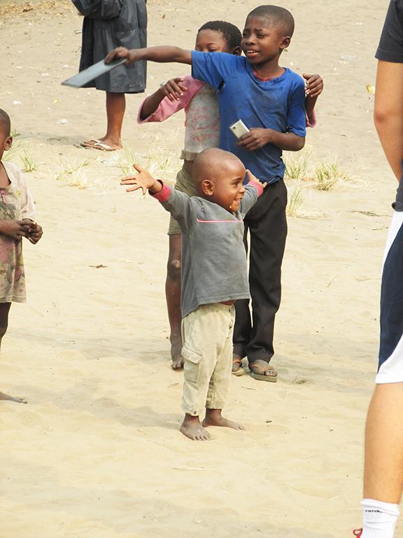 Congo gioia bambini