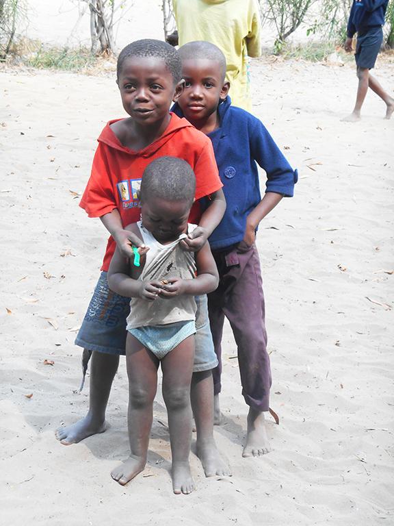 Gruppo bambini Congo