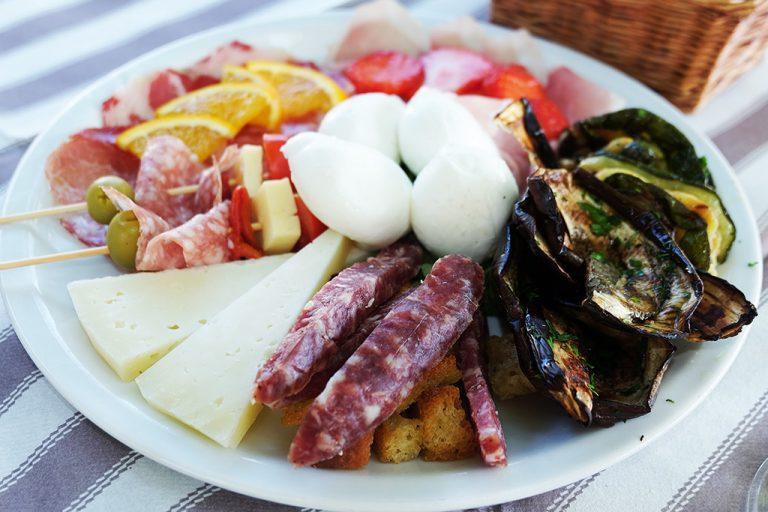Piediluco Umbria aperitivo