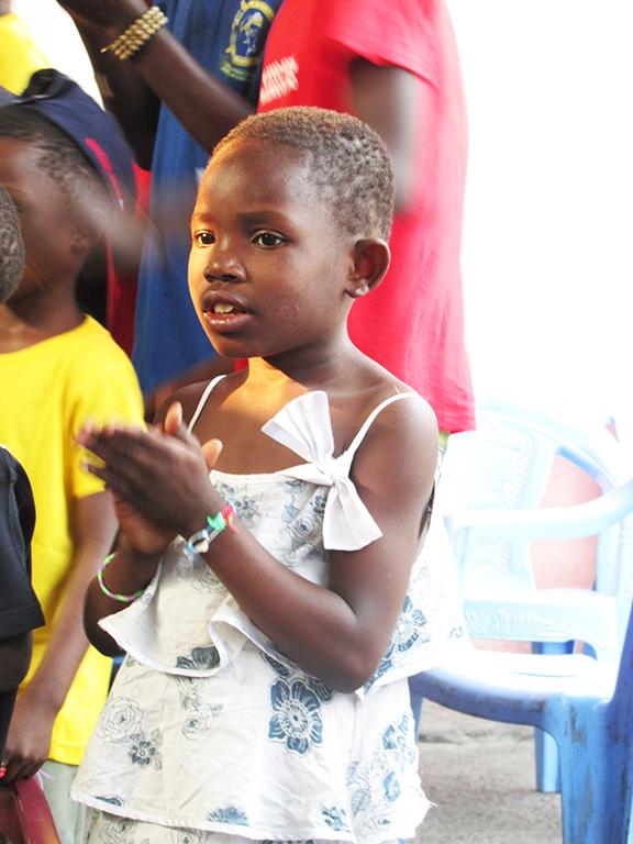 Bambina Congo orfanotrofio
