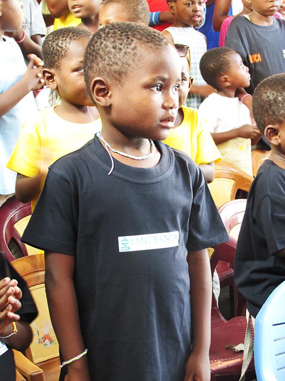 Bambino orfanotrofio Kinshasa